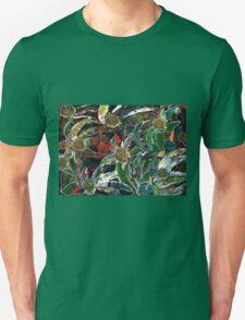 Palette knife leaves T-Shirt