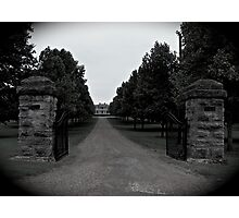Two Rivers Mansion Photographic Print