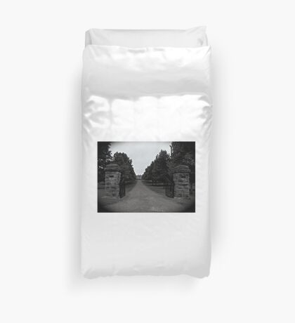 Two Rivers Mansion Duvet Cover