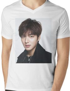 Handsome Lee Min Ho Mens V-Neck T-Shirt