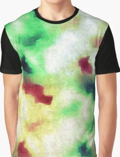 Colorful Camouflage  Graphic T-Shirt
