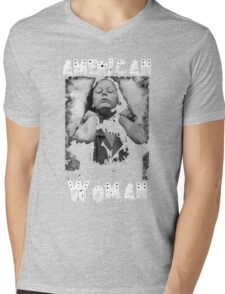 Aileen Wuornos - American Woman Mens V-Neck T-Shirt