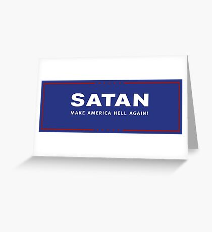 presidential hellection Greeting Card