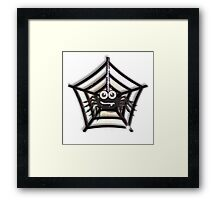 spider clipart Framed Print