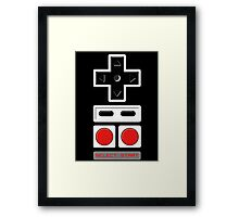 select start - controller Framed Print