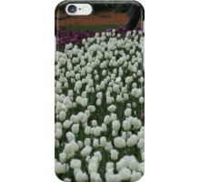 Bed of White Tulips iPhone Case/Skin