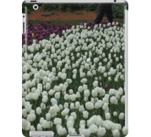 Bed of White Tulips iPad Case/Skin