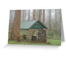 Inner Bowl Picnic Area Greeting Card
