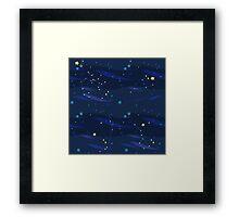 Blue Universe Framed Print