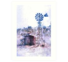 The Old Windmill Art Print