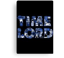 TimeLord Canvas Print