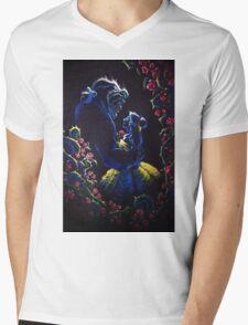 Enchanted Garden Mens V-Neck T-Shirt