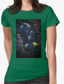 Enchanted Garden Womens Fitted T-Shirt