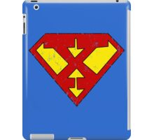 Superman X Letter iPad Case/Skin