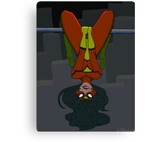 Spider Woman in the City Canvas Print
