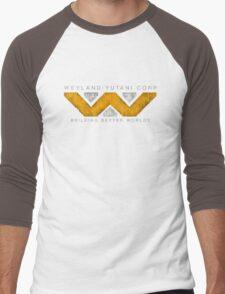 Weyland Yutani - Grunge Men's Baseball ¾ T-Shirt