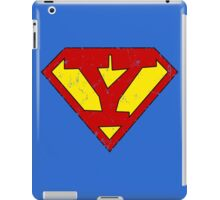 Superman Y Letter iPad Case/Skin