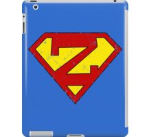 Superman Z Letter iPad Case/Skin