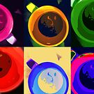 Six cups of moods by Vasile Stan