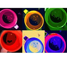 Six cups of moods Photographic Print