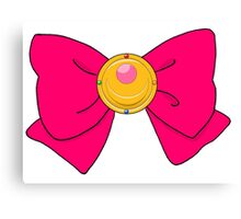 Sailor Moon Bow Canvas Print