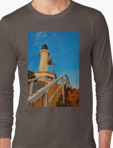 1032 Point Lonsdale Lighthouse Long Sleeve T-Shirt