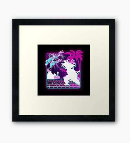 Kami's Look-Out!! Framed Print