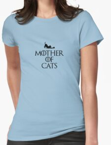 Mother of Cats Womens Fitted T-Shirt