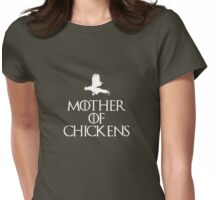 Mother Of Chickens -Dark T Womens Fitted T-Shirt