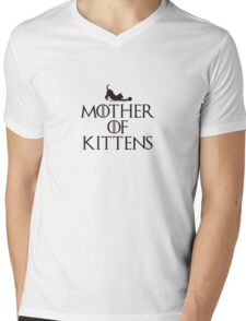 Mother of Kittens Mens V-Neck T-Shirt