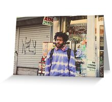 Capital Steez Greeting Card