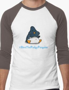 Pudgy Penguin Men's Baseball ¾ T-Shirt