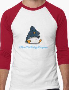 Pudgy Penguin Men's Baseball ¾ T-Shirt