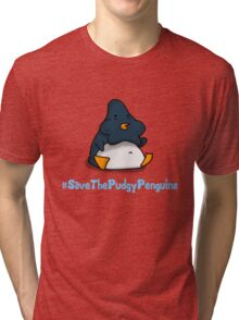 Pudgy Penguin Tri-blend T-Shirt