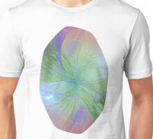 Mystic Warmth Abstract Fractal Unisex T-Shirt