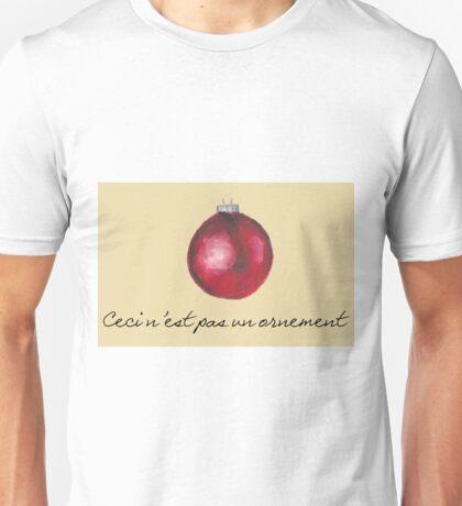Ceci n'est pas Unisex T-Shirt
