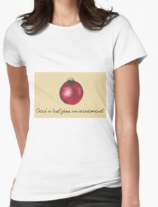Ceci n'est pas Womens Fitted T-Shirt
