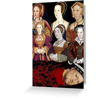 Heads Will Roll Greeting Card