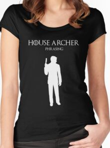 House Archer Women's Fitted Scoop T-Shirt