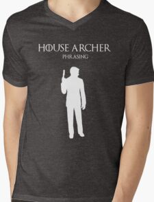 House Archer Mens V-Neck T-Shirt