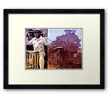 Blues Train Framed Print