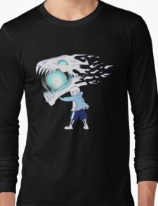 Undertale - Sans and Gasterblaster Long Sleeve T-Shirt