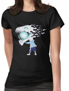 Undertale - Sans and Gasterblaster Womens Fitted T-Shirt