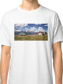 Mormon Row Historic District Classic T-Shirt