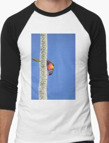 Australian Rainbow Lorikeet Men's Baseball ¾ T-Shirt