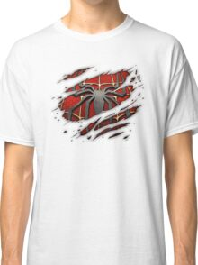 Spiderman Chest Ripped Classic T-Shirt