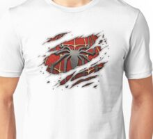 Spiderman Chest Ripped Unisex T-Shirt