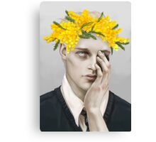 Flower crown Noah Canvas Print