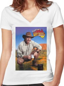russell coight Women's Fitted V-Neck T-Shirt