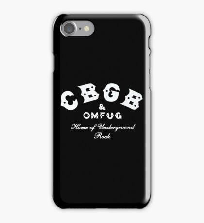 CBGB iPhone Case/Skin